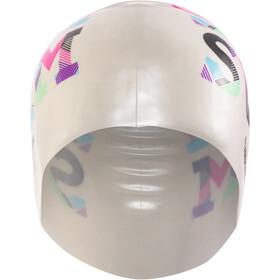 Funkita Silicone Swimming Cap, bianco/colorato